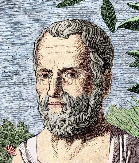 Theophrastus Theophrastus Ancient Greek philosopher Stock Image H4200234