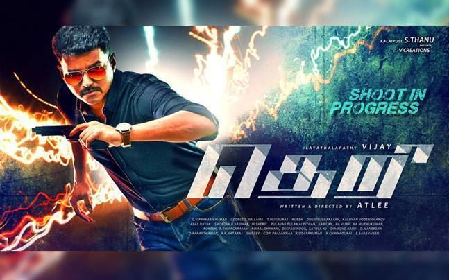 Theri (film) Vijay gives it back in style Vijay59 now officially called Theri