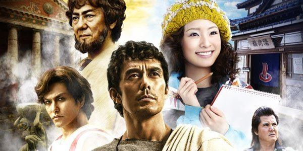 Thermae Romae II Second Thermae Romae film scheduled for Japans Golden Week next