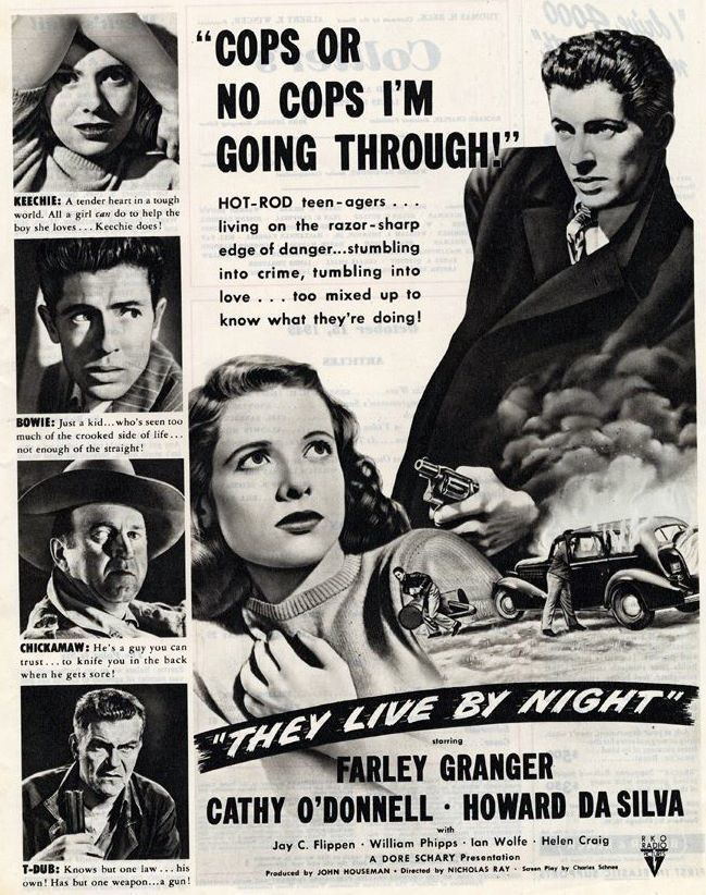 They Live by Night They Live by Night 1948 Film Noir of the Week