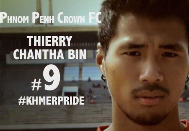 Thierry Bin Frenchborn Thierry Chantha Bin in Cambodia SEA Games