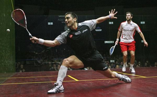 Thierry Lincou Lincou wins second squash title The Chronicle Herald