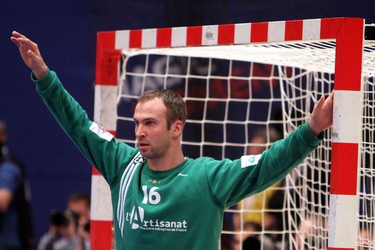 Thierry Omeyer FileThierry Omeyer THW Kiel Handball player of France 4jpg