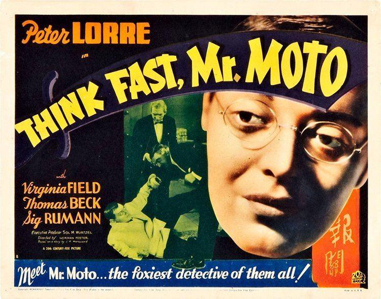 Think Fast Mr Moto 1937