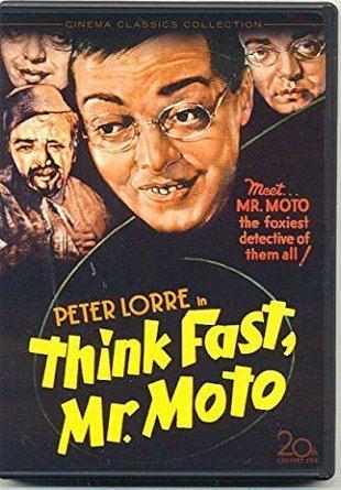 Amazoncom Think Fast Mr Moto Region One USA DVD Peter Lorre