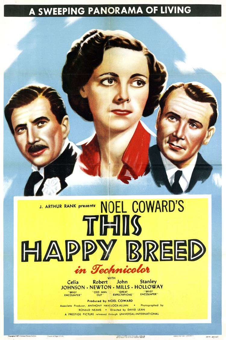 This Happy Breed (film) wwwgstaticcomtvthumbmovieposters43256p43256
