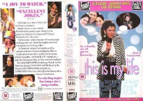 This Is My Life (1992 film) THIS IS MY LIFE 1992 VHS JULIE KAVNERSAMANTHA MATHISGABY