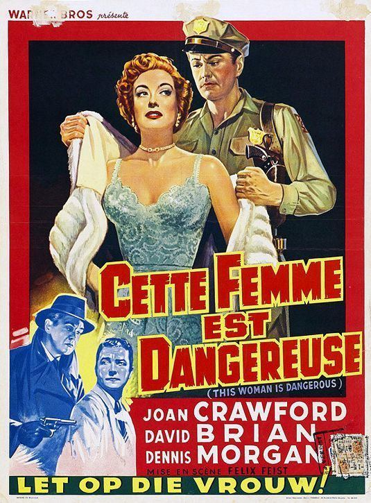 This Woman Is Dangerous Movie Poster 2 of 2 IMP Awards