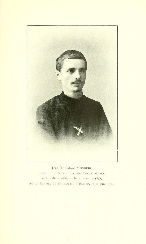 Théodore Monbeig Thodore Monbeig Wikipdia