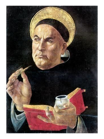 Thomas Aquinas St Thomas Aquinas Giclee Print by Sandro Botticelli at