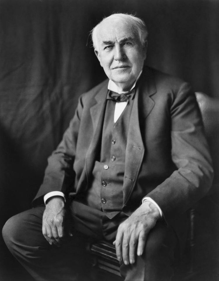 Thomas Edison Thomas Edison Wikipedia the free encyclopedia
