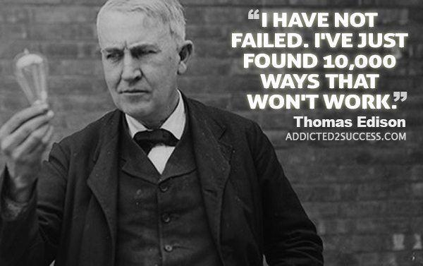 Thomas Edison 35 Memorable Thomas Edison Quotes