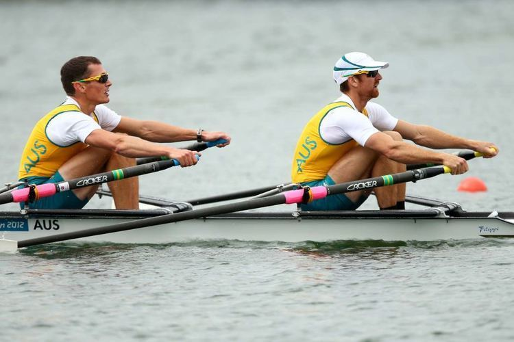 Thomas Gibson (rower) Australias Roderick Chisholm and Thomas Gibson compete during the