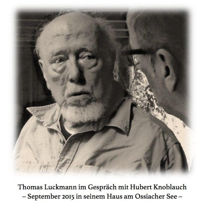 Thomas Luckmann Germanistik Prof Dr Susanne Gnthner Aktuelle Hinweise