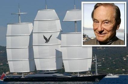 Thomas Perkins (businessman) Luxury Yachts Yacht Maltese Falcon owner Tom Perkins