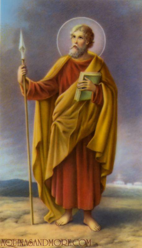Thomas the Apostle a year of prayer 365 Rosaries July 3 Saint Thomas the