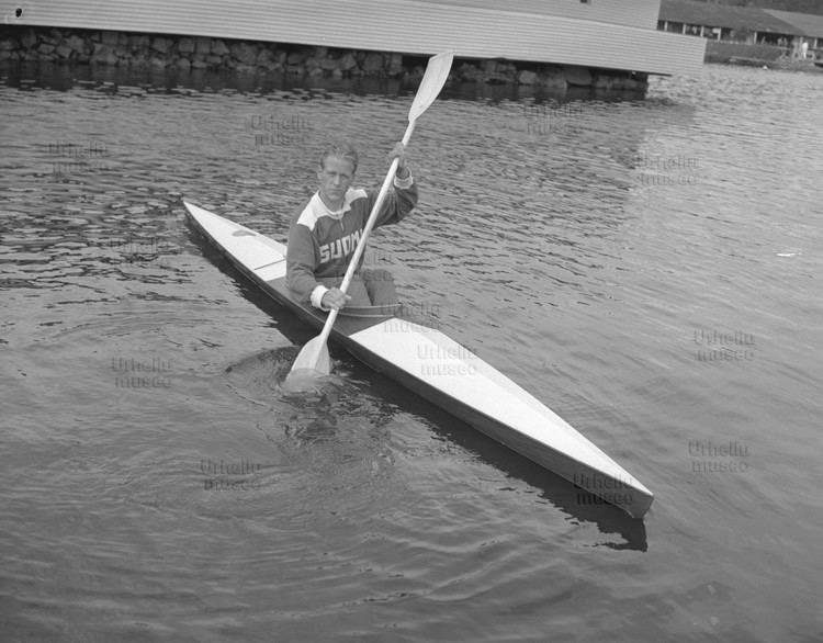 Thorvald Strömberg Thorvald Strmberg at the Summer Olympics in Helsinki 1952