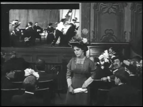 Those Awful Hats 1909 director D W Griffith cinematographer