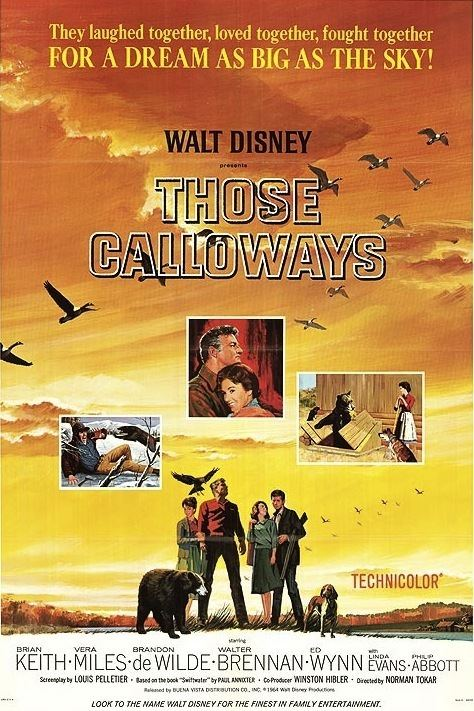 The Disney Films Those Calloways 1965
