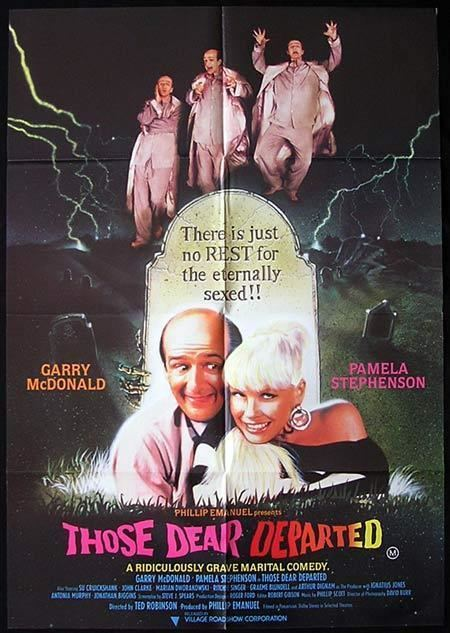 Those Dear Departed THOSE DEAR DEPARTED 1997 Garry MacDonald RARE One sheet Movie poster