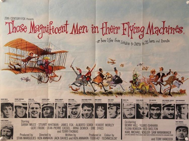 Those Magnificent Men in their Flying Machines Those Magnificent Men In Their Flying Machines 1965 Ken Annakin