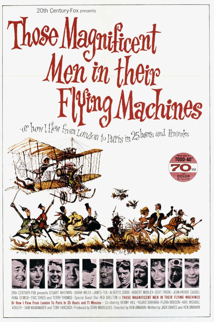 Those Magnificent Men in their Flying Machines wwwgstaticcomtvthumbmovieposters3726p3726p