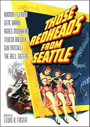 Those Redheads from Seattle Amazoncom Those Redheads From Seattle Rhonda Fleming Gene Barry