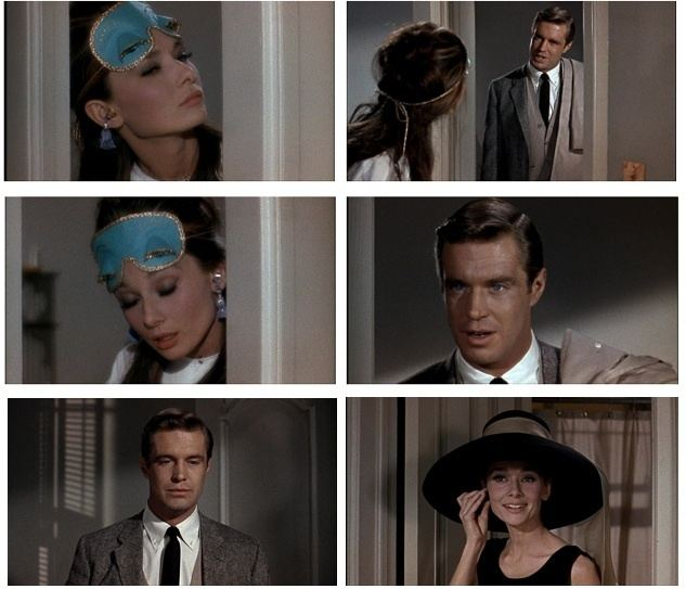 Three for Breakfast movie scenes Blake Edward s Breakfast at Tiffany s 1961 applied the three point lighting technique to illuminate scenes Though the subjects of the frame Audrey