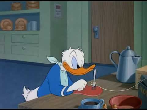 Three for Breakfast Donal Duck Three for Breakfast 1948 YouTube