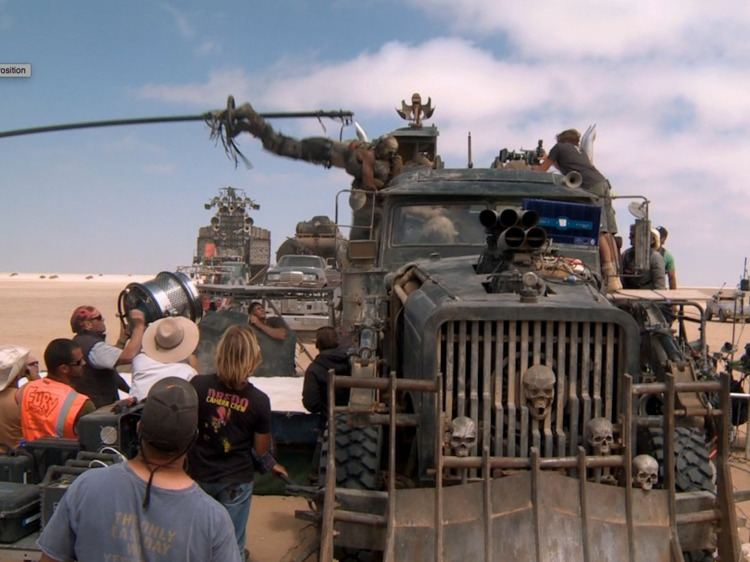 Three for the Road movie scenes  Mad Max behind the scenes Business Insider