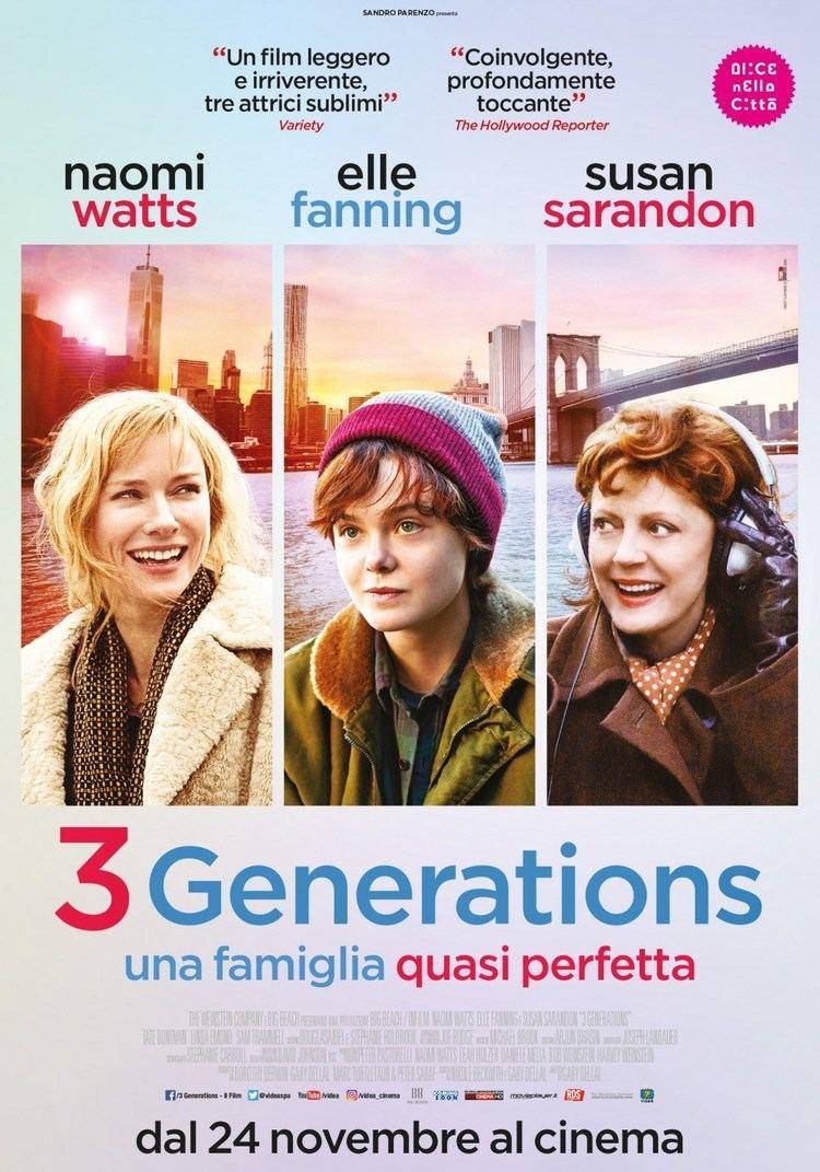 3 Generations Teaser Trailer