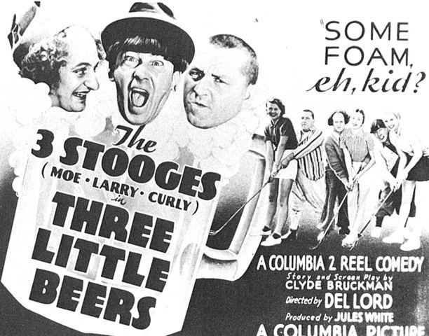 Three Little Beers The Three Stooges go golfing Bunkers Paradise