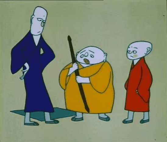Three Monks Chinese Animation Three Monks Beyond Chinatown