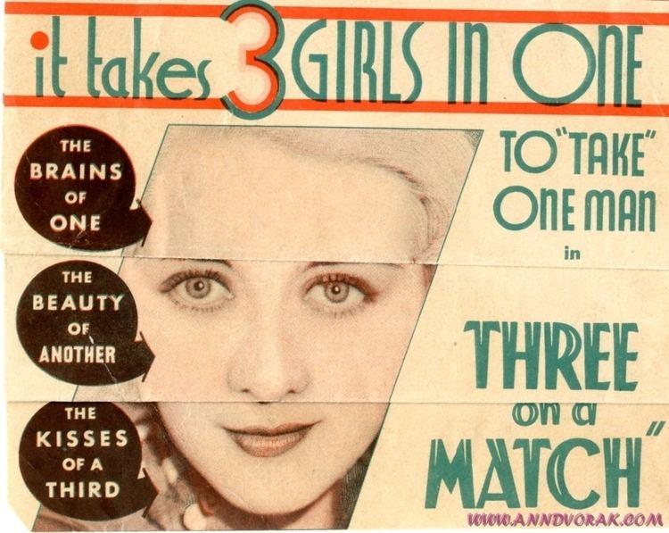 Three on a Match Three on a Match 1932