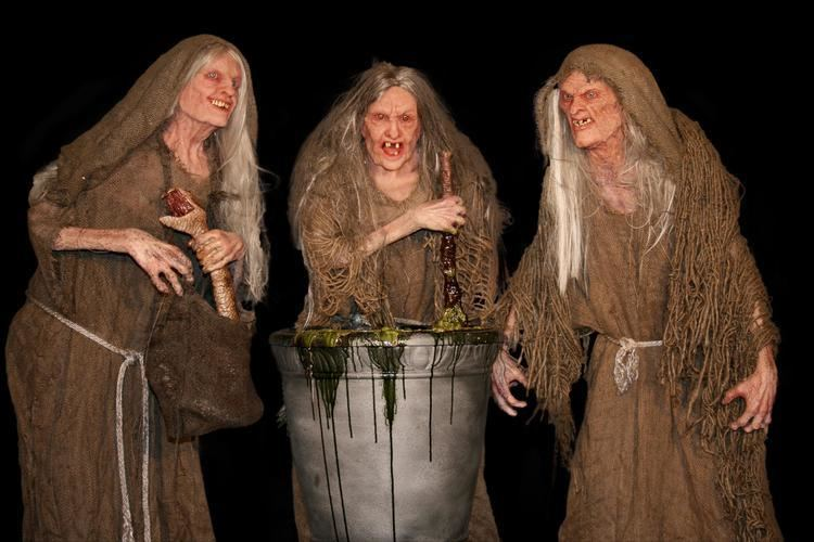 Three Witches Three Silicone Face Witches Unit 70 Studios
