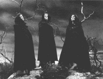 Three Witches statictvtropesorgpmwikipubimagestheweirdsist