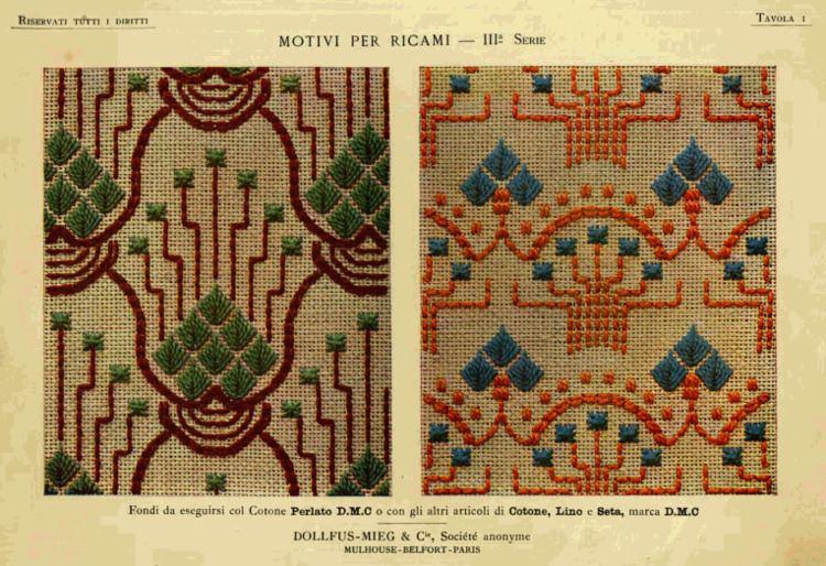 Thérèse de Dillmont Digital Archive of Documents in Italian