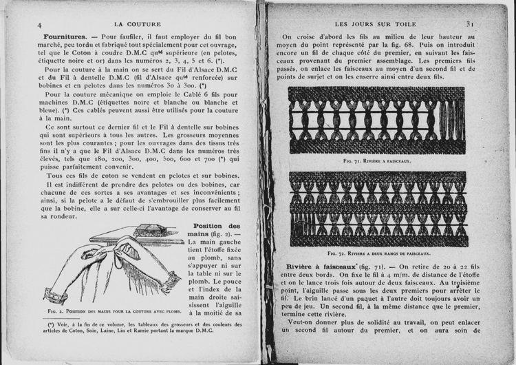 Thérèse de Dillmont Encyclopdie des ouvrages de dames Thrse de Dillmont Index Grafik