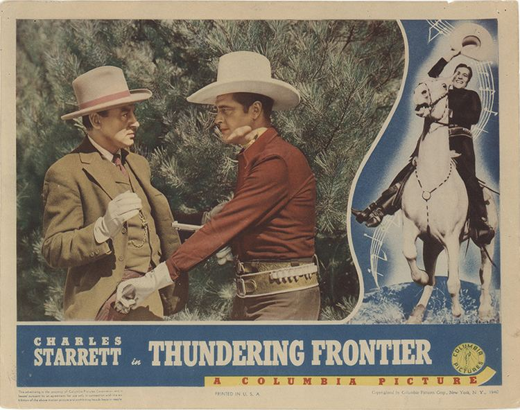 Thundering Frontier 1940 Original Movie Poster FFF35645 FFF