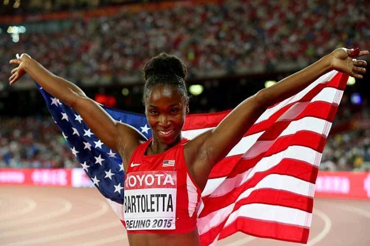 Tianna Bartoletta World Championships 2015 Tianna Bartoletta wins long jump