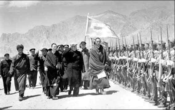 Tibet Autonomous Region in the past, History of Tibet Autonomous Region