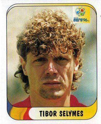 Tibor Selymes ROMANIA Tibor Selymes 135 MERLIN UEFA Euro 96 England