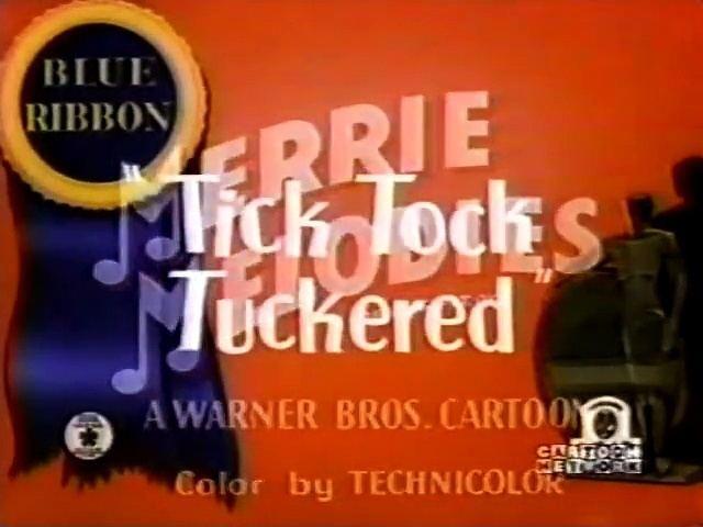 Looney Tunes Tick Tock Tuckered 1944 Video Dailymotion