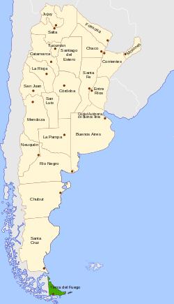 Tierra del Fuego Province Argentina Wikipedia