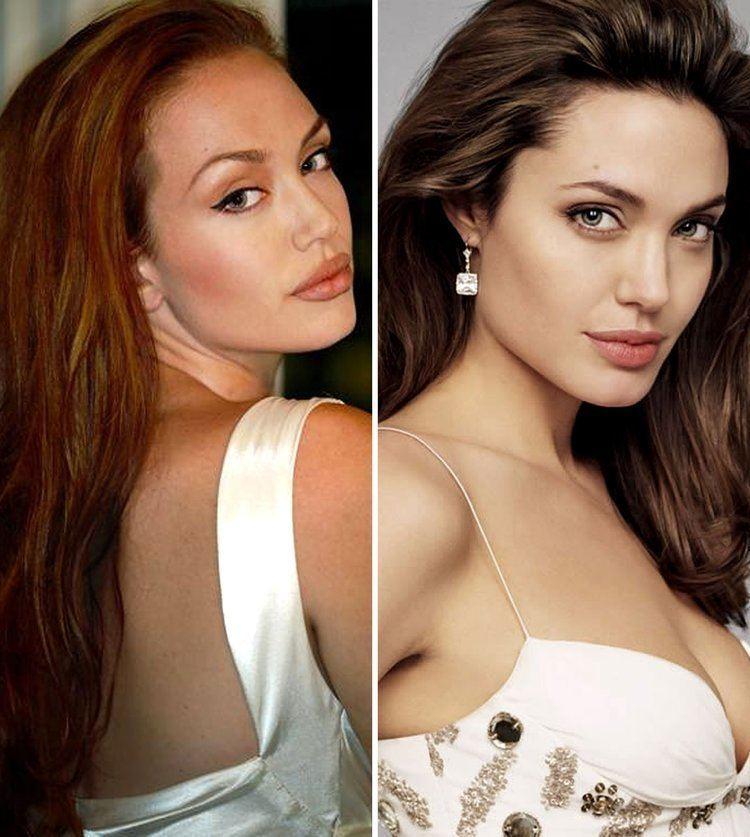 Tiffany Claus Tiffany Claus vs Angelina Jolie Tiffany Claus Angelina 1