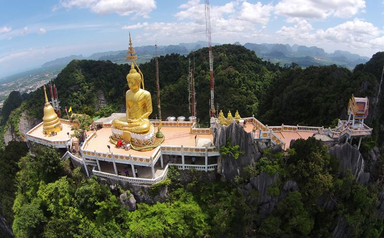 Tiger Cave Temple Tiger Cave Temple Wat Tham Sua is located near Krabi Town in