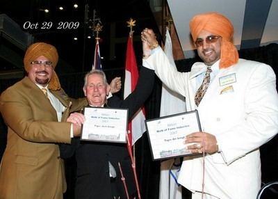 Tiger Jeet Singh CANOE SLAM Sports Wrestling Milton honours Tiger