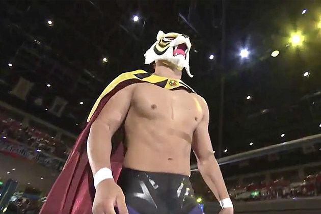 Tiger Mask (professional wrestling) Tiger Mask W Makes His King Of Pro Wrestling Debut