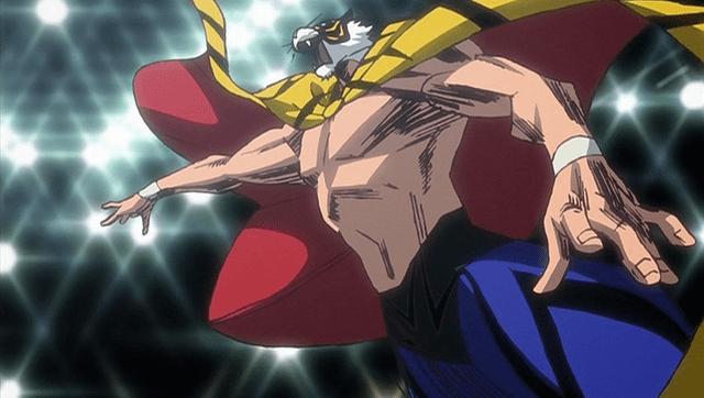 Tiger Mask W Crunchyroll Pro Wrestler Togi Makabe Appears as Himself in Tiger