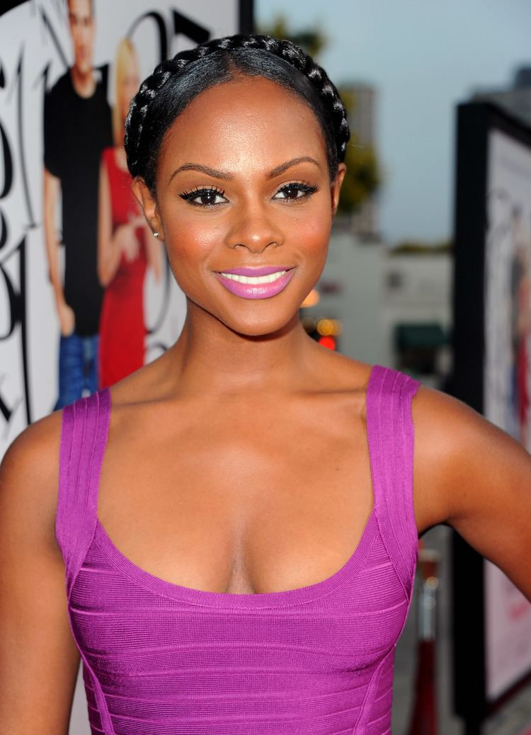 Tika Sumpter Tika Sumpter at the LA premiere of What39s Your Number